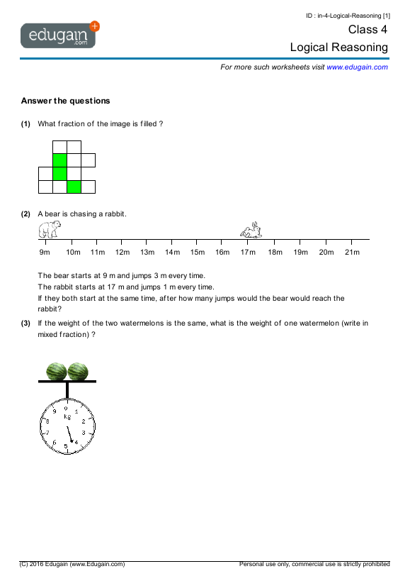 Quiz &amp- Worksheet - Abstract Reasoning | Study.com